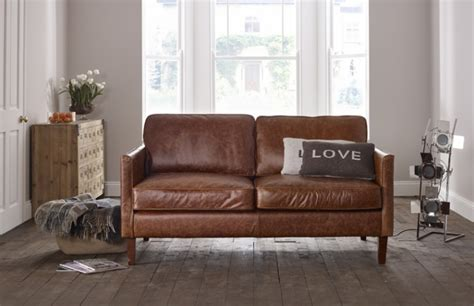 Leather Sofa Small by Columbus Small Leather Sofa Leather Sofas