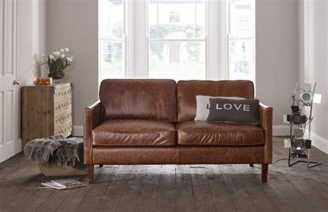 columbus small leather sofa leather sofas