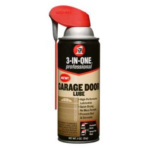 Garage Door Lubricant Home Depot wd 40 3 in 1 11 oz garage door lubricant 100584 the