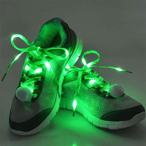 Hot Sale Nylon Flashing Shoe Laces Flash Light Up Led Glow Light Up Shoe Strings