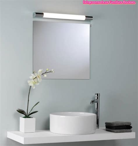 Modern Bathroom Wall Mirrors With Lights Modern Mirrors Bathroom