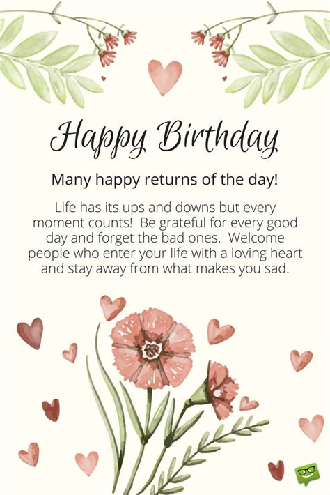 Birthday Cards With Wishes Words