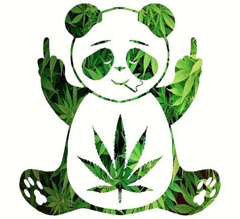 Wall Sayings Stickers pot leaf panda decal vinyl mossy oak hippie sticker