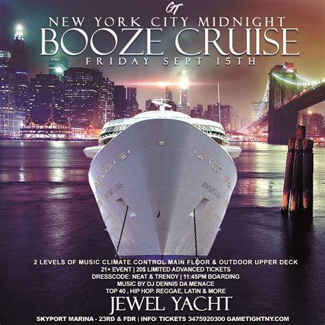 jewel party boat nyc nyc booze cruise yacht party at skyport marina jewel yacht