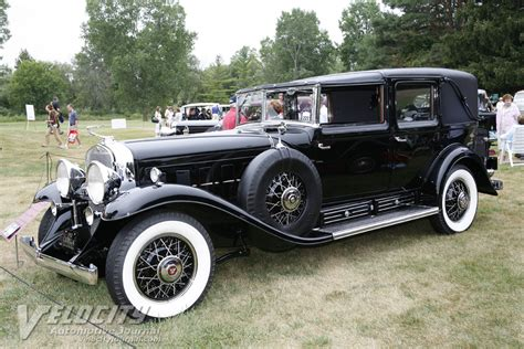 1930 Cadillac V16 by 1930 Cadillac V16 Transformable Town Cabriolet By