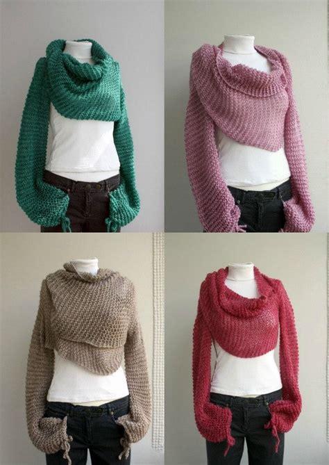 free knitting patterns shawl with sleeves last one free shipping green bolero scarf shawl neckwarmer