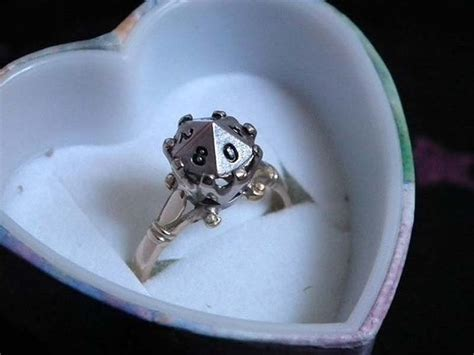 23 adorkable wedding rings for geeks in