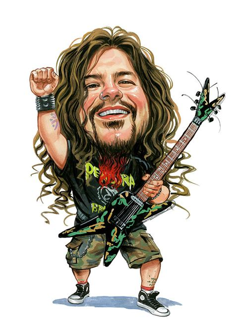 dimebag darrell painting by art