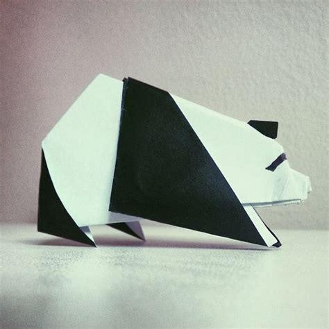 Origami Pandas - 365 days of origami by ross symons bored panda