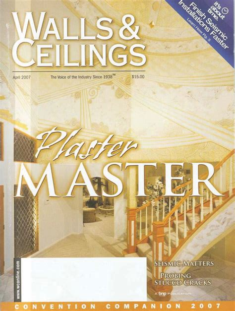 Walls And Ceiling Magazine walls and ceilings magazine