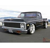 1972 69 70 CHEVY C10 STEPSIDE PICKUP TRUCK CHOPPED BAGGED