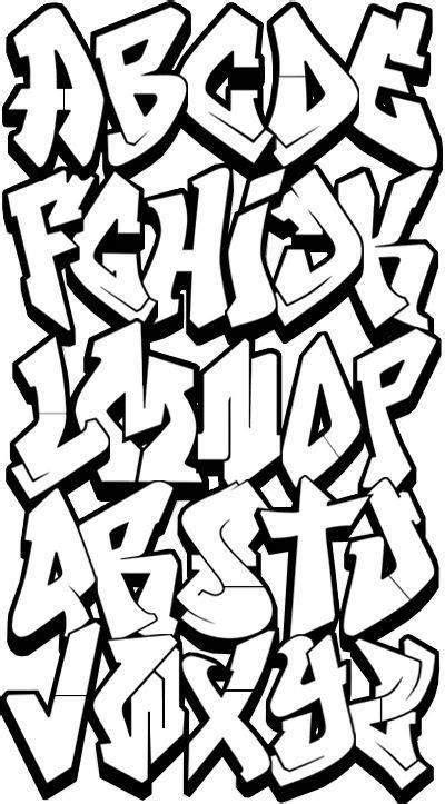 dibujar abecedario o letras en graffiti 4 | graffiti and