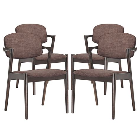 upholstered dining armchair spunk vintage modern upholstered dining armchair w wood