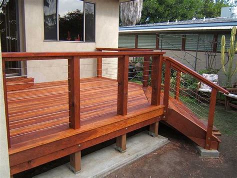 Stainless Steel Deck Railing Ultra Tec 174 Stainless Steel Cable Railing System Modern