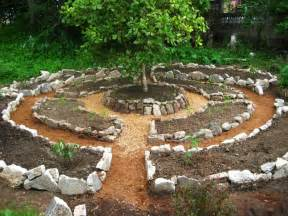 Permaculture Vegetable Garden Layout Based On Permaculture Principles Using Instead Of Lines Some Argue That This Is