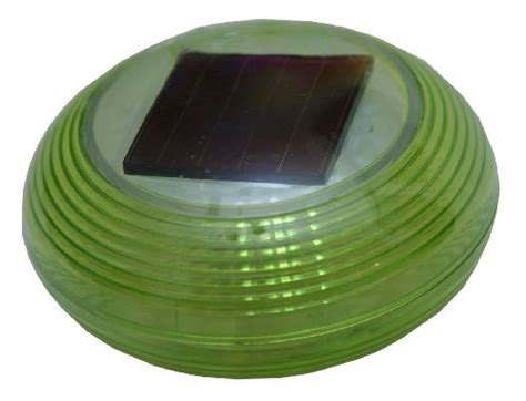 tricod green plastic floating ball solar light solar garden