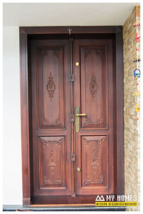 home door design pictures delicate front wooden door designs kerala