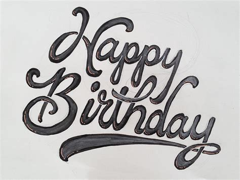 happy birthday writing pictures to pin on pinterest