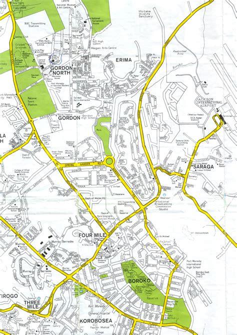 port moresby map port moresby