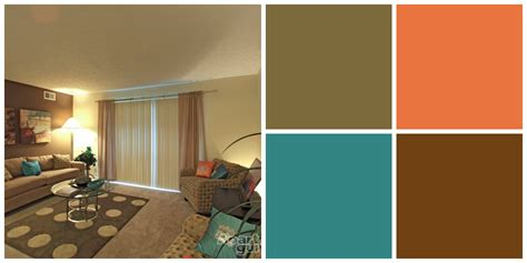 Earth tone living room paint colors decor with bright touch design idea decofurnish