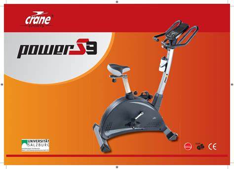 bedienungsanleitung crane sports power s9 ergometer studio