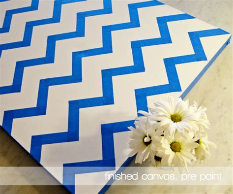 diy gold chevron paintings jess lively