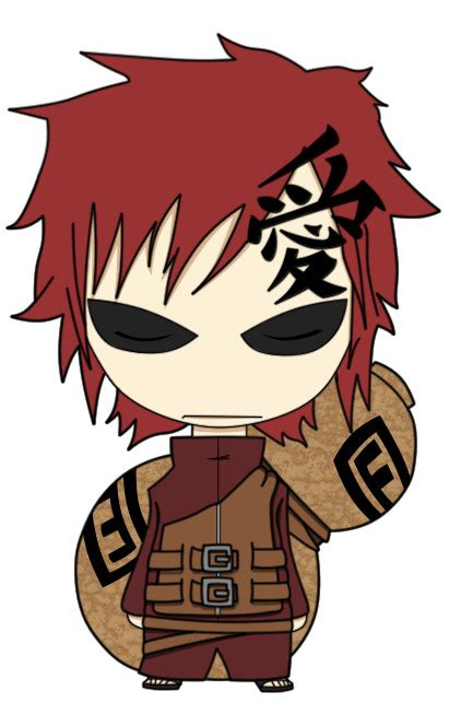 Kaos 13 Gaara sabaku no gaara and fansite g port 225 l