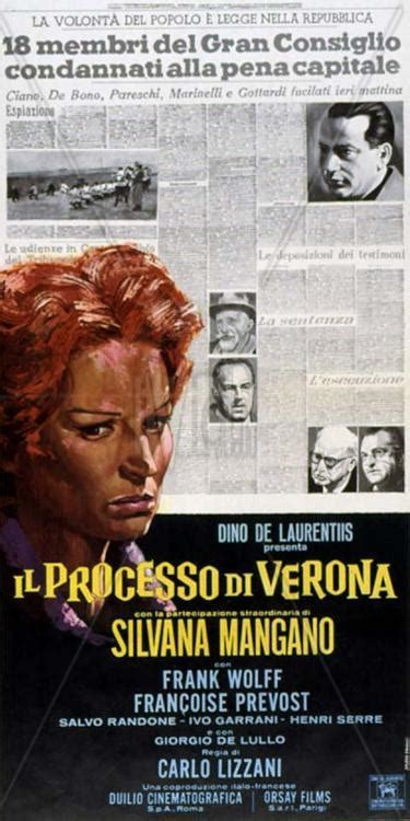 silvana mangano il processo di verona el proceso de verona 1963 filmaffinity