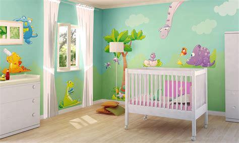 decoracion habitaciones infantiles dinosaurios habitaci 243 n b 233 b 233 tem 225 tica beb 233 s dinosaurios leostickers