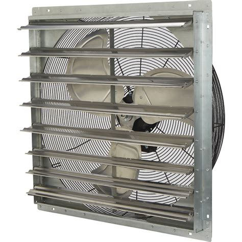 direct drive exhaust fans with shutters strongway totally enclosed direct drive shutter exhaust