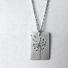 Handcrafted Silver Pendants - handmade jewelry sterling silver sprouts necklace by