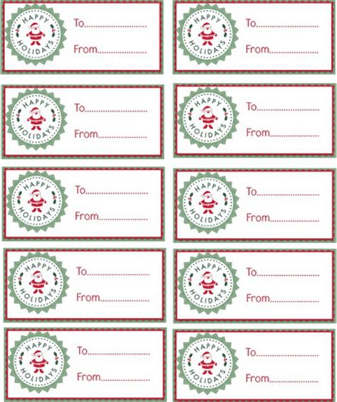 7 best images of avery printable gift tags avery