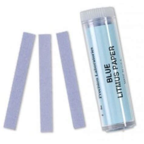 How To Make A Litmus Paper - blue litmus paper 100 vial