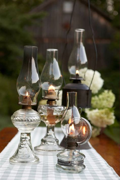 Dinner Table Lighting by Bbq Style Table Amp Party Decor Ideas