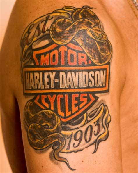 harley davidson tattoos tribal harley davidson tattoos designs ideas and meaning
