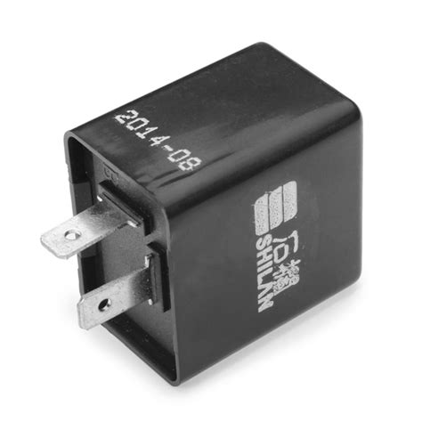 relay with a resistor 2 pin 12v motorcycle bike flasher relay resistor for led indicator alex nld