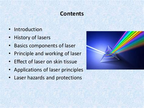Basic Laser by Basics Of Laser And It S Use In Dermatology