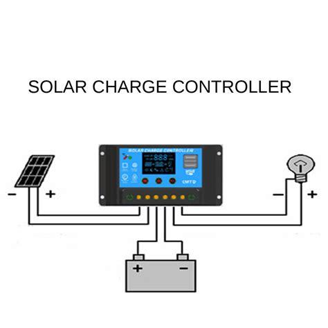 Solar Charge Controller 12v 24v 20apanel Surya Charger Lcd 12v24v 20a 3 12v 24v 20a solar panel battery regulator charger controller dual usb 5v output ebay