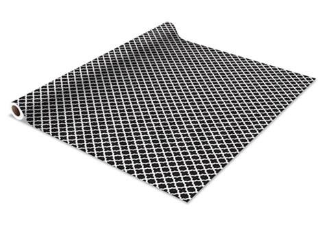 Black Shelf Liner by Self Adhesive Shelf Liner Black Designer Wall