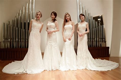 Wedding Dress Kpop by 10 Kpop Idols Who Look Beautiful In Wedding Dresses