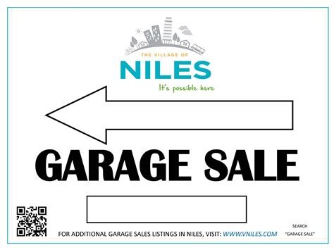 Garage Sales Permit Garage Sale Permits Niles Il Official Website