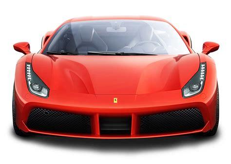 ferrari front png ferrari 488 gtb red car png image pngpix