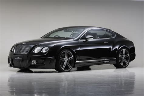 bentley black wald bentley continental gt sports line black bison