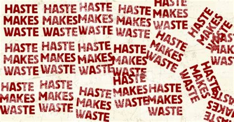 Haste Makes Waste by Brain Study Provides New Insight Into Why Haste Makes