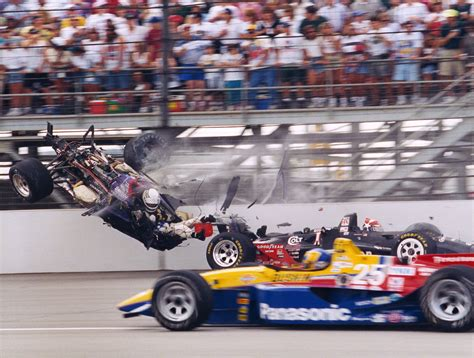 racing driver racing driver stan fox s horrific crash in the 1995 indy