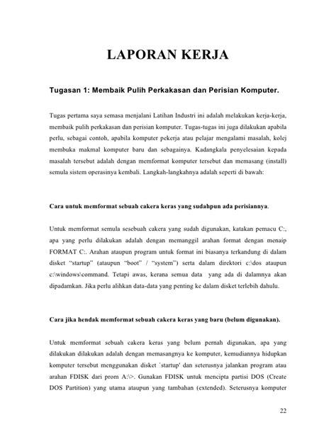contoh laporan jaringan komputer report