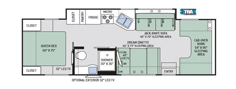 thor rv floor plans new thor chateau 31y floor plan rv tip of the day