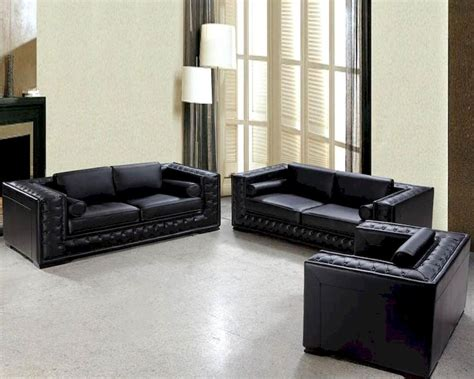 black and white leather sofa set luxurious black or white leather sofa set 44l0697