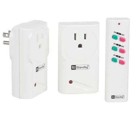 Bye Bye Standby Saves Energy And At The Touch Of A Button by Bye Bye Standby Energy Saving Electrical Outlet Kit With