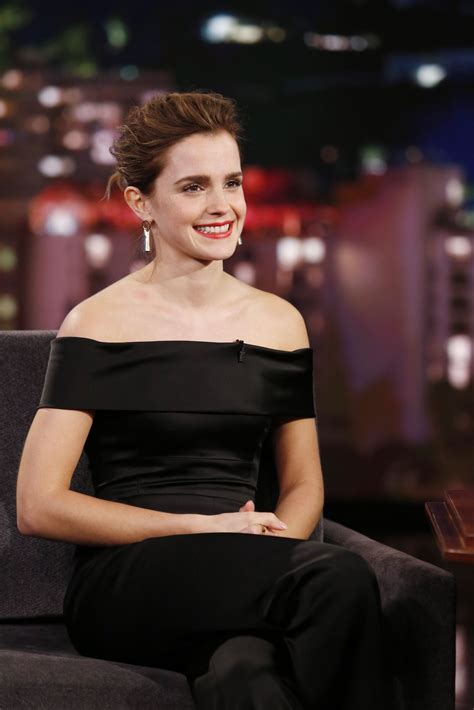 emma watson emma watson appeared on jimmy kimmel live 3 6 2017